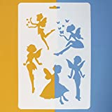 Asian Hobby Crafts Craft Stencils For Sketching Scrapbooking Kids Crafts - Fairy