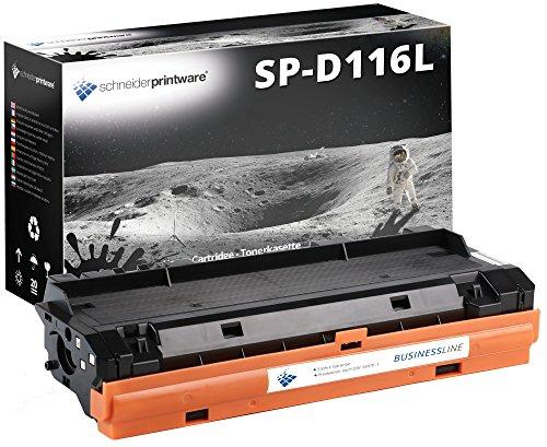 Schneider Printware Toner 4.800 Seiten   60 Prozent mehr Druckleistung   kompatibel, als Ersatz für MLT-D116L für Samsung Xpress M2625, M2625D, M2675FN, M2820DW, M2825ND, M2835DW, M2870FW, M2875FD, M2875FW, M2875ND, M2885FW, M2835DW,  Geprüft nach ISO-Norm 19752  