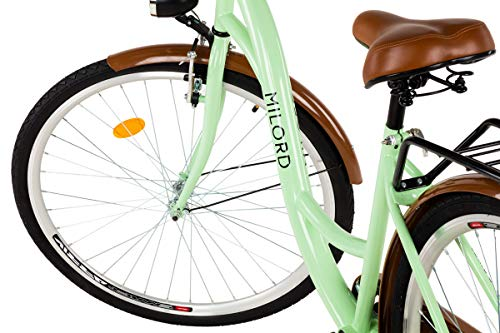 Zoom IMG-2 milord 2018 comfort bike bicicletta