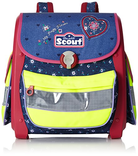 Scout - Buddy - Schulranzen Set 5 tlg. - My Pretty Flower