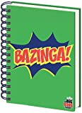 The Big Bang Theory A5 Bazinga Quaderno - Verde