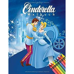 Cinderella Malbuch: Malbuch Mit Wunderbaren Bildern Für Kinder - Cinderella