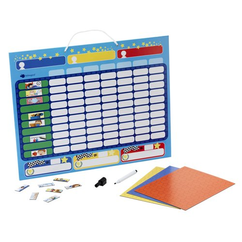 itsImagical - Magnetic Progress-Table, juguete educativo (Imaginarium 56936)