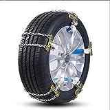 CARWORD General Automobile Tire Catena Catena Catena Antiscivolo per Fuoristrada Snow Land Catena di Emergenza Catena Universale,M