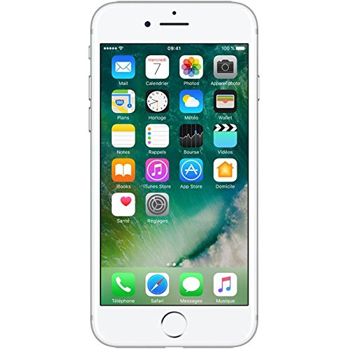 Apple iPhone 7 Smartphone Libre Plata 128GB (Reacondicionado Certificado)