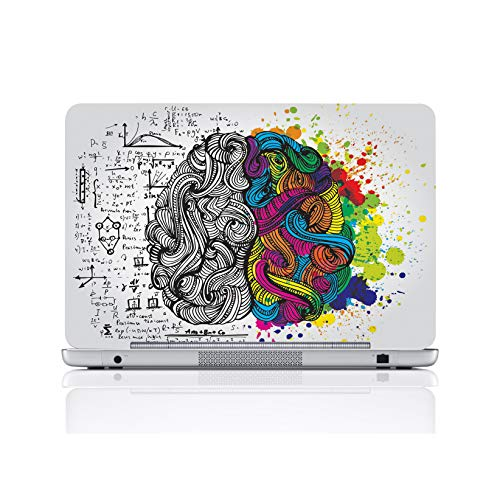 LADECOR Laptop Skin Cover, Designer Print Stickers Laptop Decal Fits for All Models Up to 17 Inch Screen Size (15.5 Inch X 10.5 Inch) (Design 01)