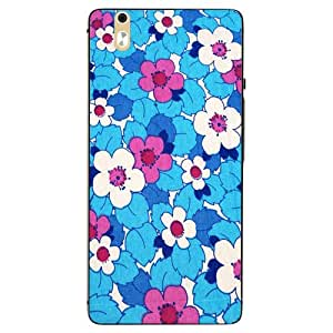 Make My Print Printed Multicolor Hard Back Cover For InFocus M810