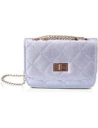 c7684e607a8 Amazon.co.uk  Silver - Cross-Body Bags   Women s Handbags  Shoes   Bags