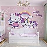 Hello Kitty - Forwall - Fototapete - Tapete - Fotomural - Mural Wandbild - (1814WM) - XL - 208cm x 146cm - VLIES (EasyInstall) - 2 Pieces