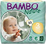 Abena Bambo Nature Baby Nappies - Pack of 33