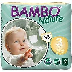 Abena Bambo Natura Pannolini da bambino - Confezione da 33