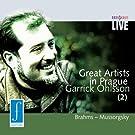 Great Artists in Prague - Garrick Ohlsson (2)