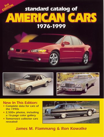 Standard Catlog of American Cars: 1976-1999 (Standard Catalog of American Cars)