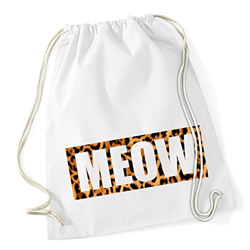 Meow Leo Sac De Gym Blanc Certified Freak