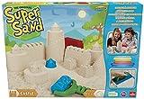 Goliath 83219 | Super-Sand-Set Castle | modellierbarer Kinetik-Sand bringt Burgen ins Kinderzimmer | handliche Sandkasten-Box | bunte Burg-Förmchen | ab 4 Jahren
