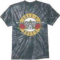Guns N Roses Simple Bullet Spider Tie-Dye Hombre