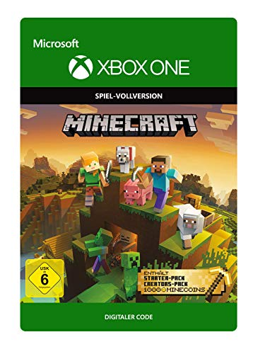 Minecraft Master Collection | Xbox One - Download Code (Xbox 1 Minecraft)