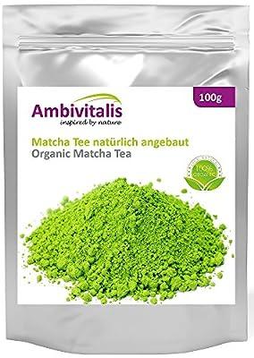 Ambivitalis - Thé vert matcha - Poudre de thé - 100g