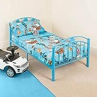 CHRISTOW Childrens Metal Bed Frame Kids Bedroom Furniture Bedframe Hearts Cars