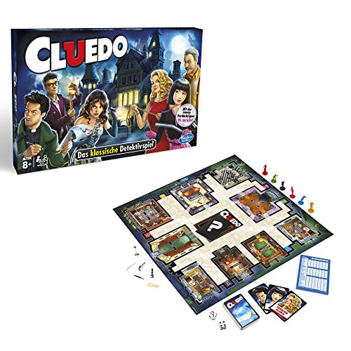 Juego de Mesa Cluedo - Hasbro Gaming