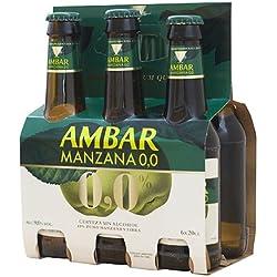 Cerveza Ambar Manzana - Paquete de 24 x 200 ml