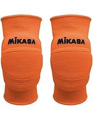 Mikasa MT8premier Paire Genouillères Volley Volleyball Orange fluo