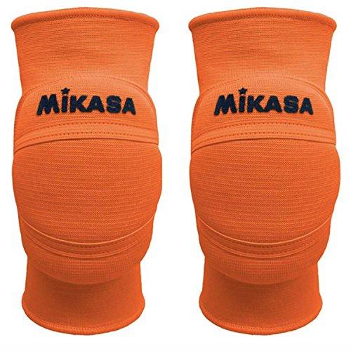 Mikasa MT8Premier Paar Knieschoner Volleyball Orange Fluo, XL