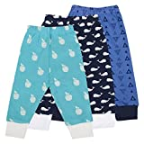 #9: Baby Grow Combo Mini Berry Full Rib Legging Set Of 3 For Baby Multi Color (18-24 Months)