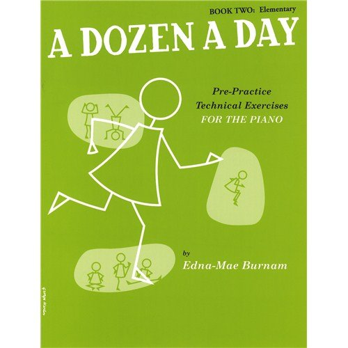 BURNAM - A Dozen a Day Vol.2: Elementary Edition para Piano