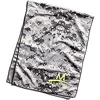 Mission Tech Knit Towel - Toalla para hombre, color gris, talla L