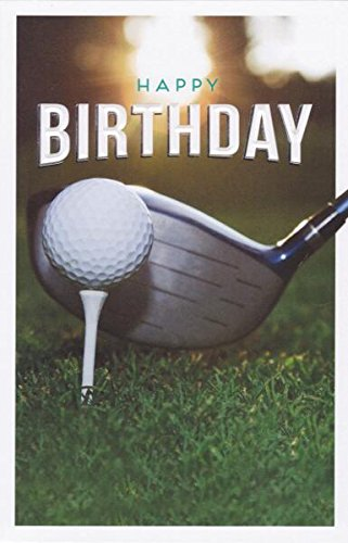 Golf Geburtstagskarte-Gibson