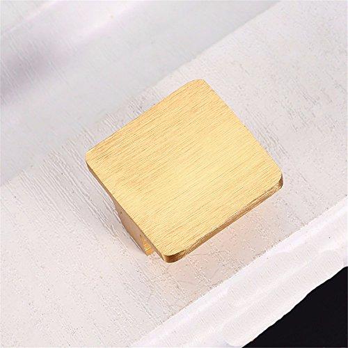 Rechteckige Schublade Ziehen (MmDLai Kleiderschrank Griff Rechteckigen Schwarzen Griff Moderne Minimalistische Schrankgriff Schublade Griff B Griff ziehen)