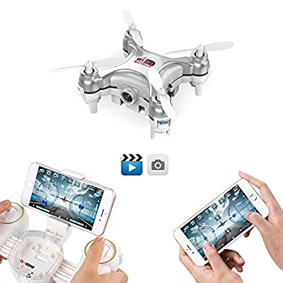 GoolRC Cheerson CX-10WD Wifi FPV 0.3MP Camera Drone with Gravity Control Mode, IOS/Andorid Phone Gravity Control by Goolrc