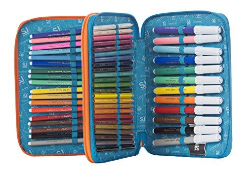 8f43869c06 ASTUCCIO scuola SEVEN MAXI – SJ BOY – 2 scomparti – pennarelli matite gomma  ecc.. Giallo Blue. In offerta! 🔍. vedi ...