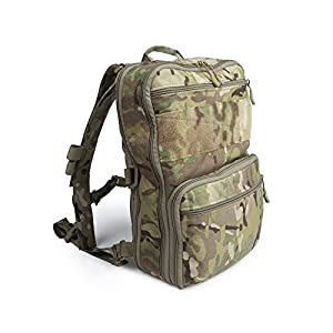 Haley Strategic Partners D3 Flatpack PLUS With Chest Strap Backpack Assault Pack Made In The USA (MultiCam)