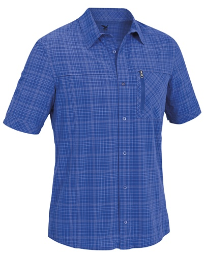 SALEWA Herren Hemd Isortoq Dry M Short Sleeve Shirt M Talut Azures