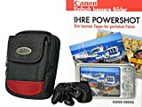 Foto Kamera Tasche RED ROCK PLUS Set mit Fotobuch Ihre Powershot Canon