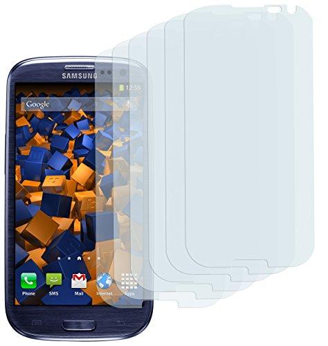 mumbi Schutzfolie kompatibel mit Samsung Galaxy S3 Folie, Galaxy S3 Neo Folie klar, Bildschirmschutzfolie (6x)