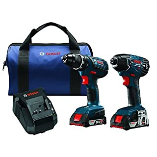 Bosch CLPK232A-181 18V Lithium-Ion Cordless Two Tool Combo Kit by Bosch