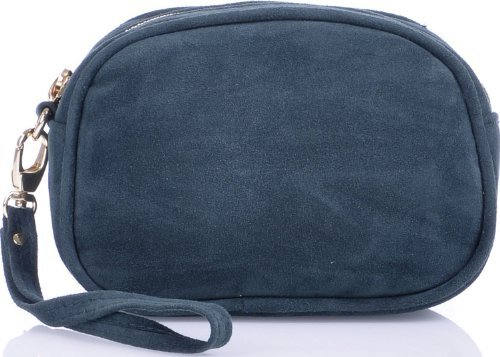 MASQUENADA, Cntmp, Custodia, Beauty Case, Custodia Trucchi, Da Donna, in Pelle, Verde, Petrolio, 16x10x4,5 (LXHxP)