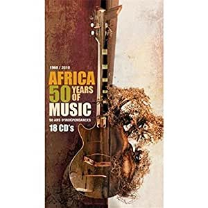 Afrique 50 ans de musique, 50 ans d'indépendances : 1960-2010 (Coffret 18 CD)
