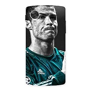 Special Calmness Football Back Case Cover for Google Nexsus 5