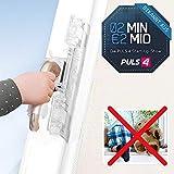 ISI Safe Kindersicherung Verriegelung für Fenster Balkontüren Terrassen Türen ✓ patentiert ✓ Montage ohne Bohren ✓ auch bei gekippten Fenstern | 2 Minuten 2 Millionen | Das Original powered by