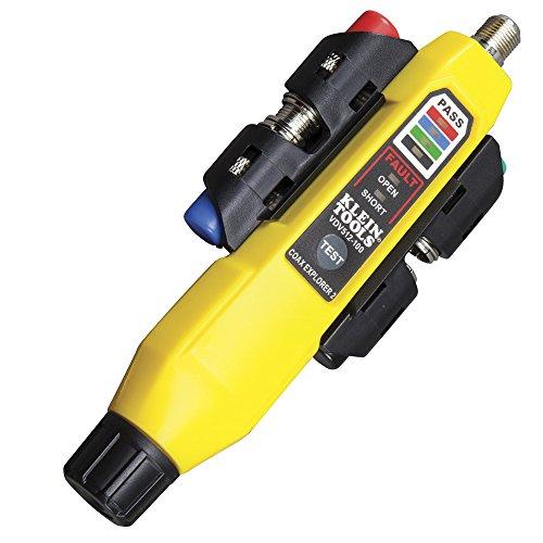 KLEIN TOOLS VDV512-101 Coax Explorer 2 mit Remote Einheit Koaxialkabelsucher, Gelb, 25,4 mm