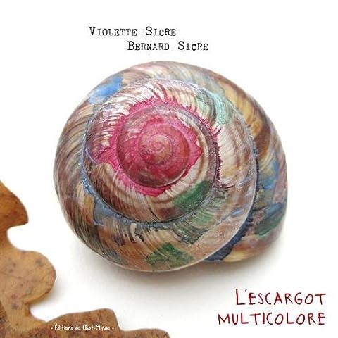 L'escargot multicolore