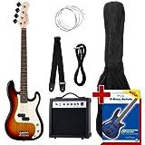 Rocktile 00019647 Groovers Pack PB Set de basse électrique Sunburst 6 pièces