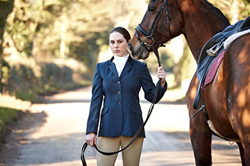 5144ZNx 4iL BEST BUY UK #1Dublin Haseley Ladies Show Jacket Navy/Silver Ladies 20/44 price Reviews uk