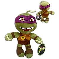 Donatello 30cm Super Soft Peluche Pañuelo Violeta Morado Mascara Las Tortugas Ninja Mutantes Adolescentes (TMNT