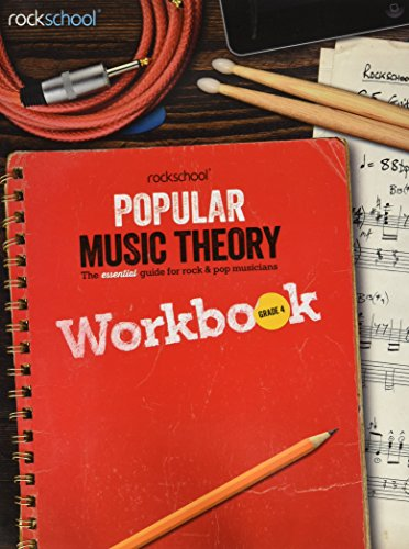 Rockschool Popular Music Theory Workbook Grade 4 Bk por Various