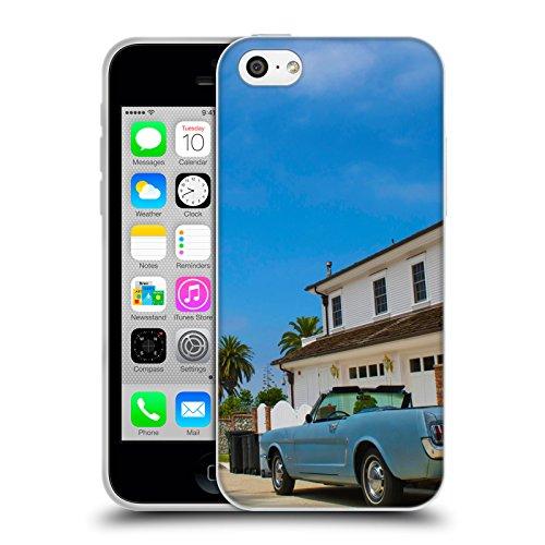 Offizielle Haroulita New York 3 Orte Soft Gel Hülle für Apple iPhone 7 Kalifornien
